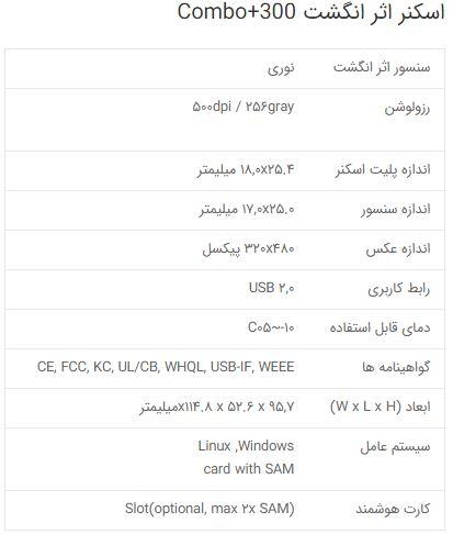 اسکنر اثر انگشت ایرانی